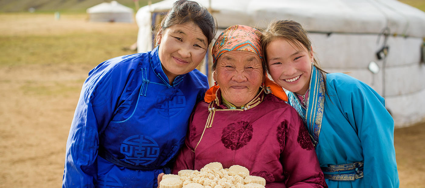 Kinder Mongolei World Vision