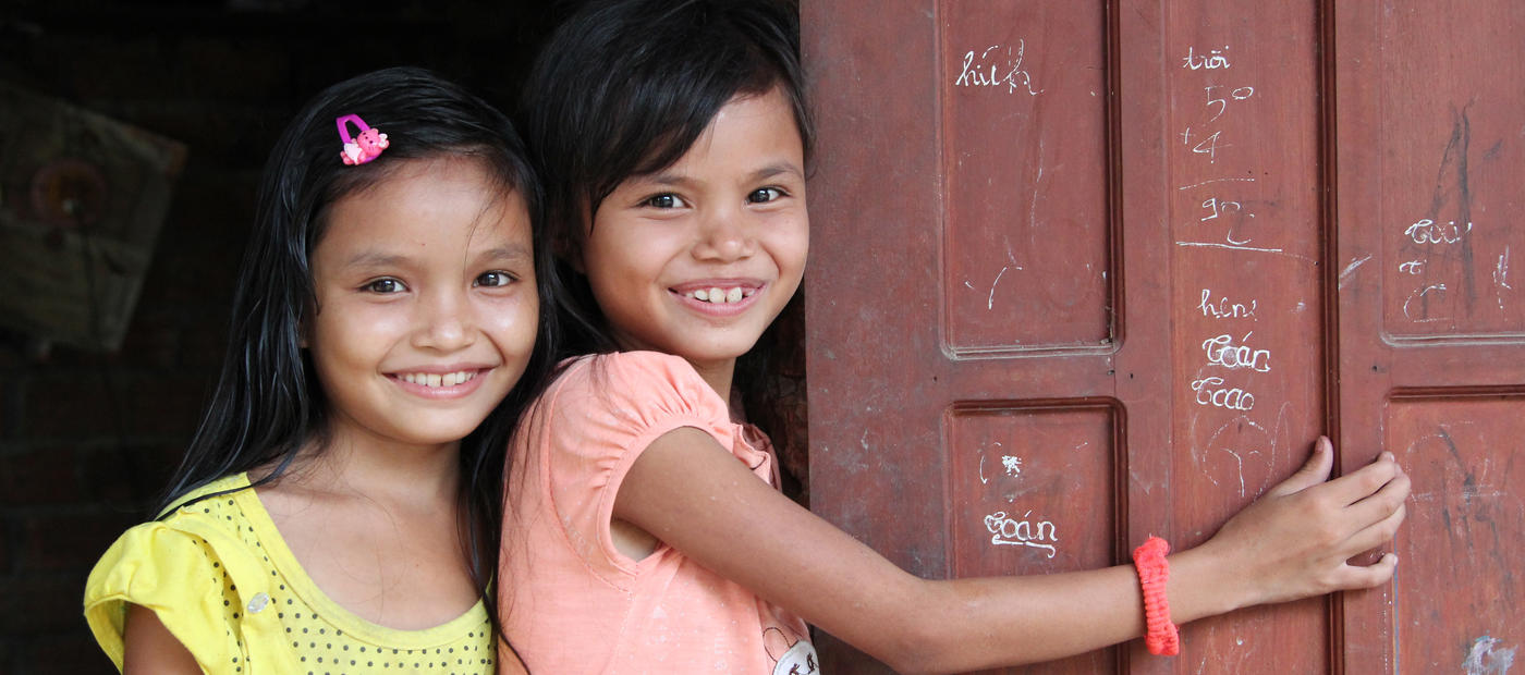 World Vision Vietnam Projekt Kinder Förderung Patenschaft Not