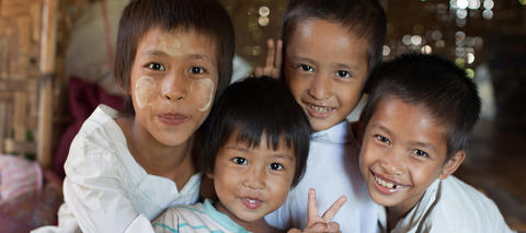 Myanmar Kinder World Vision