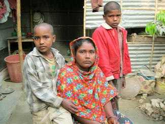 Tahers Familie in Bangladesch