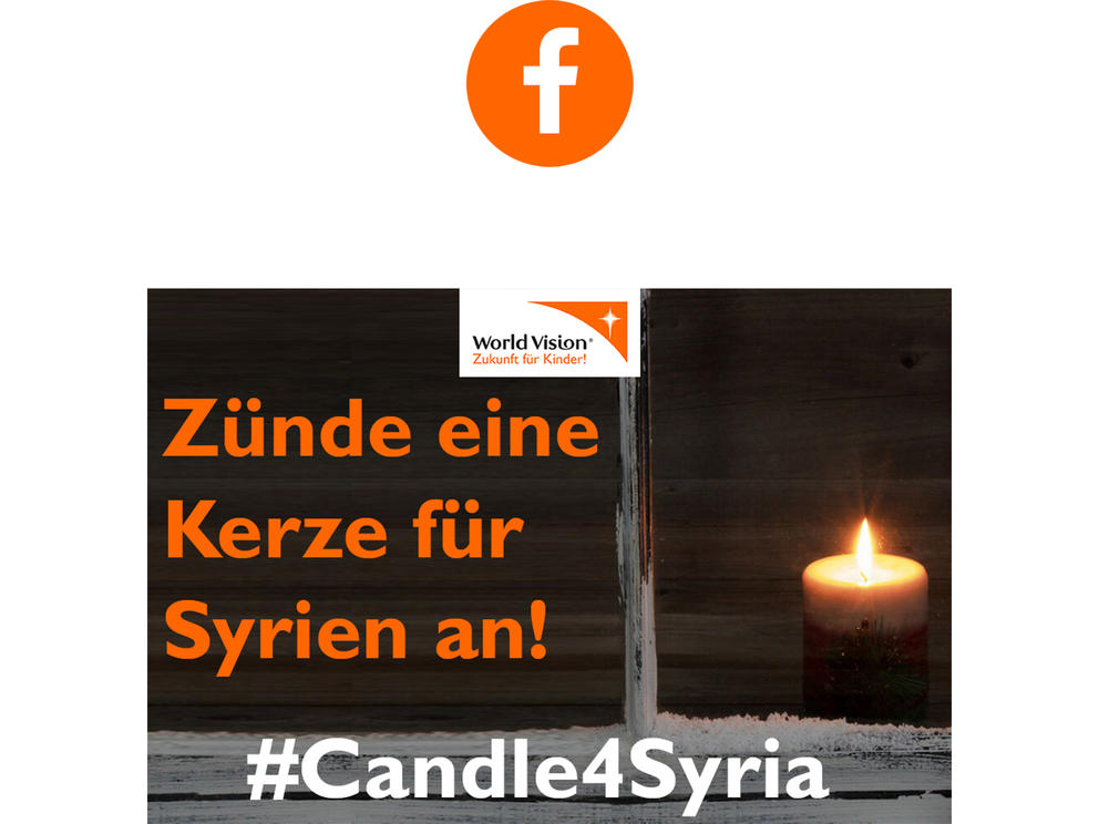 #Candle4Syria Facebook