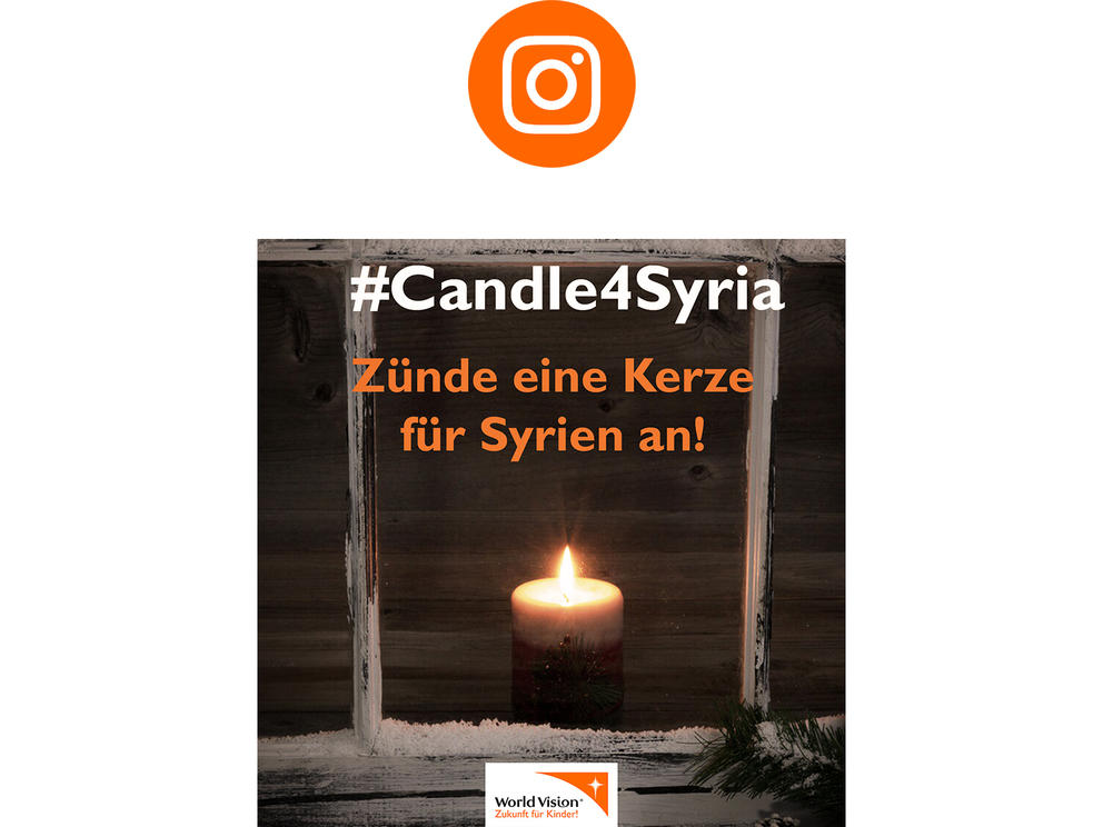 #Candle4Syria Instagram