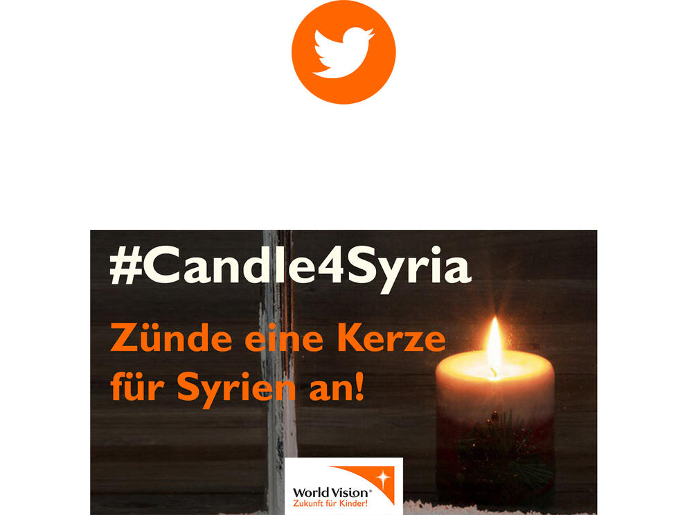 #Candle4Syria Twitter