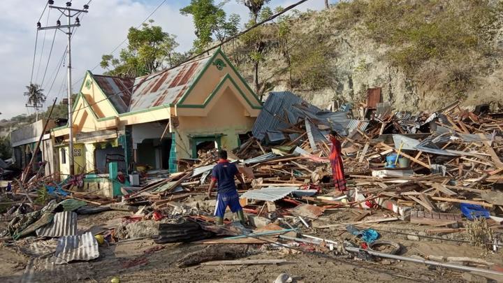 Katastrophenhilfe Indonesien