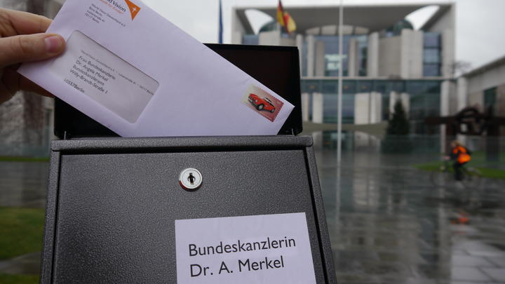 Brief an Merkel