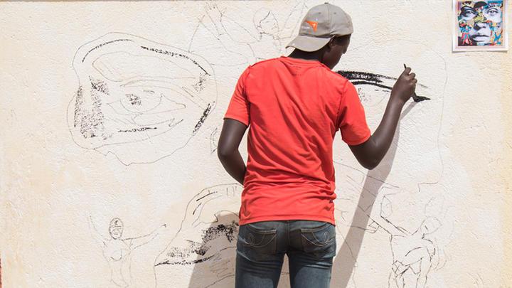 Uganda Flüchtlinge Mit Kunst Unterstützen World Vision