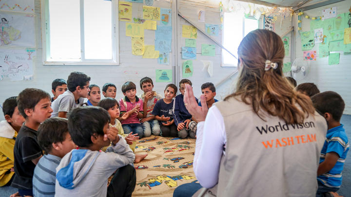 Kinder Jordanien World Vision