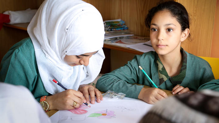 Bildung Kinder Jordanien World Vision