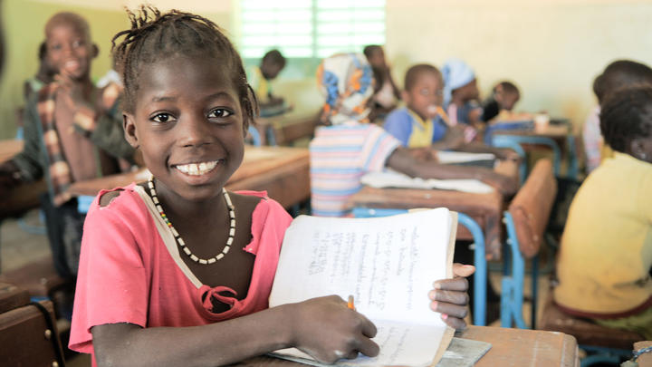 Bildung Kind World Vision Mali