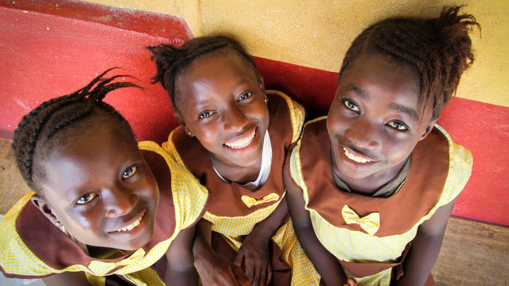 World Vision Kinder in Not Sierra Leone