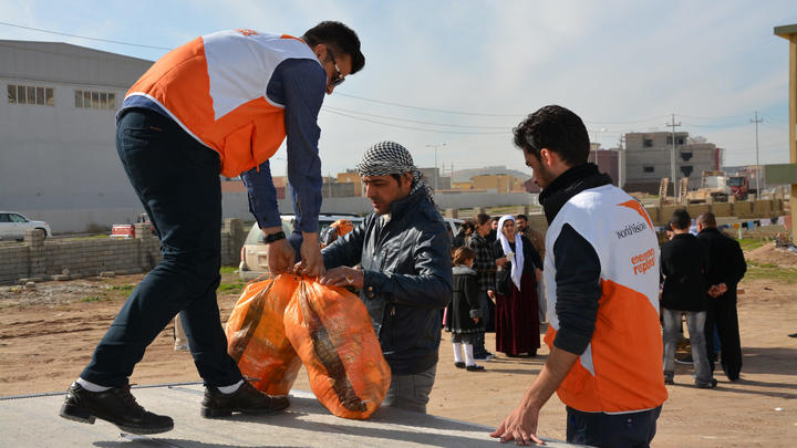 Kinder in Not Irak World Vision