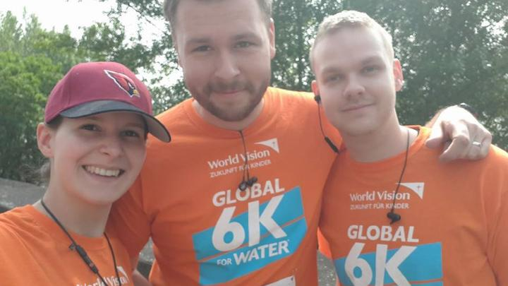 Global 6K Läufer in Köln